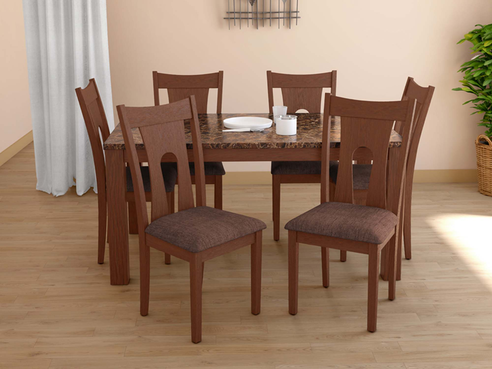 Amber Dining Table With Honey Chair Interiors Today Lucknow